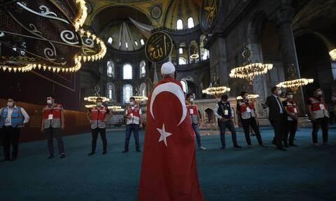 Διεθνής κατακραυγή για την φιέστα Ερντογάν και τη βεβήλωση της Αγίας Σοφίας