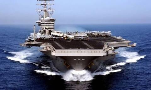 Εξελίξεις: Αεροπλανοφόρο και 12 πολεμικά πλοία των ΗΠΑ καταφθάνουν στη Μεσόγειο