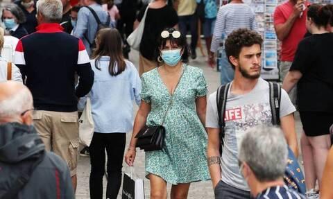 Γαλλία-κορονοϊός: Για δεύτερη μέρα πάνω από 1.000 κρούσματα σε 24 ώρες
