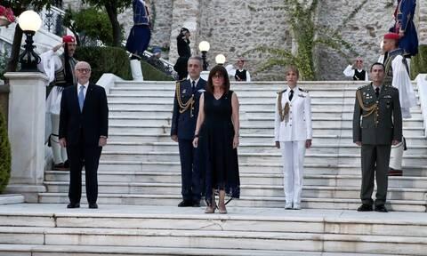 Τι ειπώθηκε για την ελληνοτουρκική κρίση στη δεξίωση για την επέτειο αποκατάστασης της Δημοκρατίας
