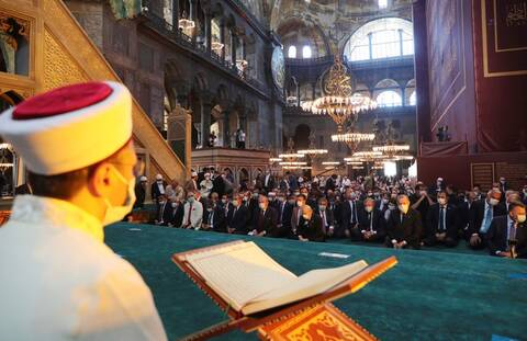 Αγία Σοφία: Διεθνής κατακραυγή για το προκλητικό σόου Ερντογάν