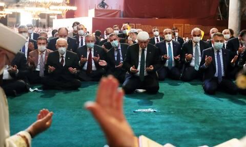 Αγία Σοφία: Παγκόσμια κατακραυγή για την μετατροπή σε τζαμί - Αναχρονιστικό σόου από τον Ερντογάν