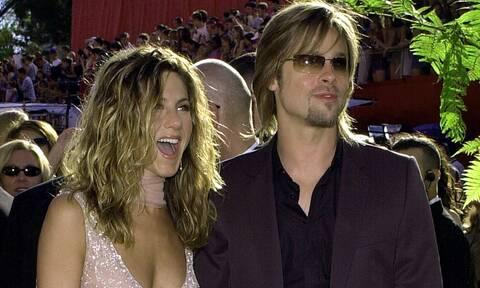 Η Aniston φιλιόταν με πασίγνωστο συμπρωταγωνιστή της όσο ήταν με τον Brad