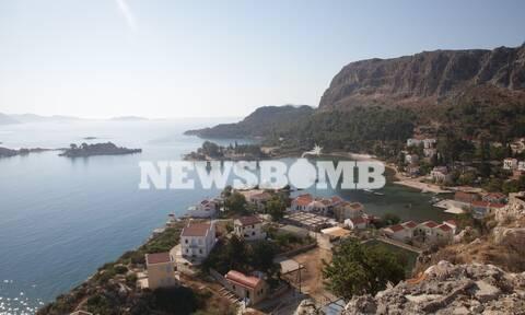 Αποστολή Newsbomb.gr: Ηρεμία στο Καστελόριζο εν αναμονή επισκεπτών