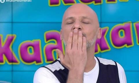 Ο Μουτσινάς «γυρίζει» το τρέιλερ της νέας σεζόν και γίνεται χαμός στο πλατό