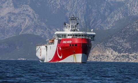 «Πόλεμος νεύρων» στο Αιγαίο: Οι Τούρκοι ανακοίνωσαν ότι το Oruc Reis άρχισε τις σεισμικές έρευνες