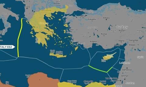 Αποκάλυψη Newsbomb.gr: Έρχεται τμηματική οριοθέτηση ΑΟΖ με την Αίγυπτο