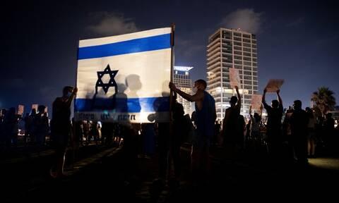 Ισραήλ: Νέες διαδηλώσεις εναντίον του πρωθυπουργού Μπενιαμίν Νετανιάχου