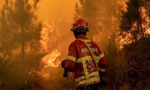 Καίγεται η Πορτογαλία: Νεκρός πυροσβέστης - Εκκενώθηκαν οικισμοί