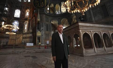 Εμπρηστικός Ερντογάν: Μερικοί δυσκολεύονται να χωνέψουν ότι η Κωνσταντινούπολη είναι τουρκικό έδαφος