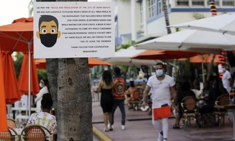 ΗΠΑ Κορονοϊός: Η Φλόριντα έχει 9.300 νέα κρούσματα -Ξεπέρασε τη Νέα Υόρκη