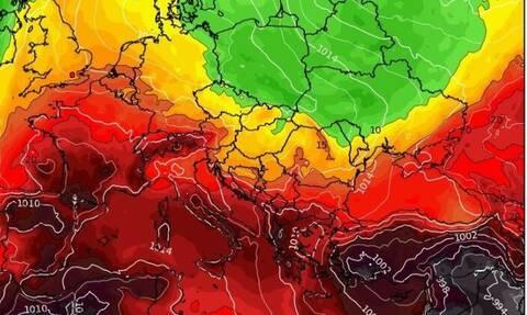 Καιρός: Καρέ - καρέ ο ερχομός της θερμής εισβολής (Photos)
