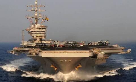 Τουρκικά ΜΜΕ: Το «Αϊζενχάουερ» θα κάνει ασκήσεις με το τουρκικό ναυτικό