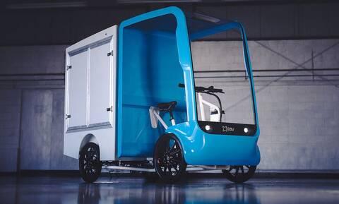 EAV 2Cubed Ecargo: To ελαφρύ όχημα μεταφορών με πεντάλ και ηλεκτρική υποβοήθηση