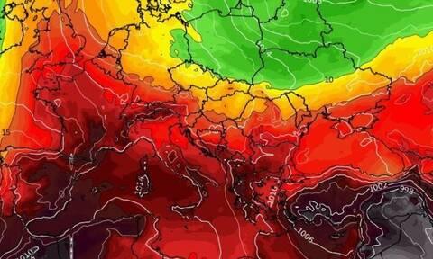 Καιρός: Τα τελευταία στοιχεία για τον μίνι καύσωνα (photos)