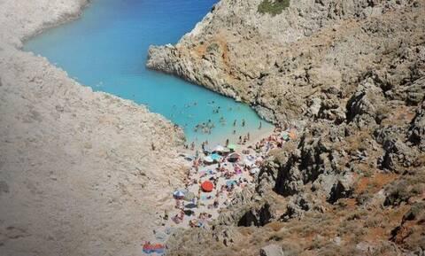 Σεϊτάν Λιμάνια: Επιχείρηση διάσωσης για τουρίστα που έπεσε στα βράχια