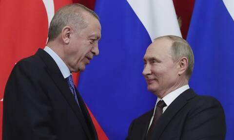 Επικοινωνία Πούτιν - Ερντογάν για τη σύγκρουση Αρμενίας - Αζερμπαϊτζάν