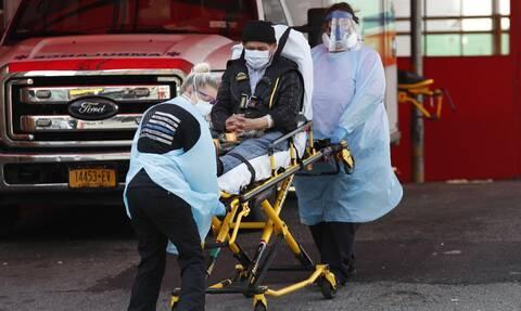 Κορονοϊός στις ΗΠΑ: 679 νεκροί και πάνω από 57.000 κρούσματα μόλυνσης μέσα σε 24 ώρες