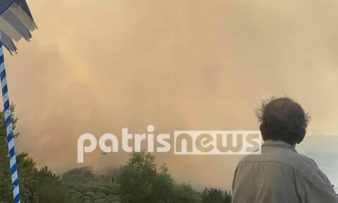 Σε κατάσταση έκτακτης ανάγκης τα πυρόπληκτα χωριά του Δήμου Αρχαίας Ολυμπίας