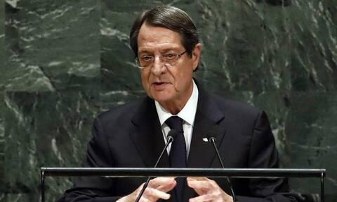 Ξεσπά ο Αναστασιάδης: «Δεν θα αποδεχθώ τακτικές εκβιασμού»