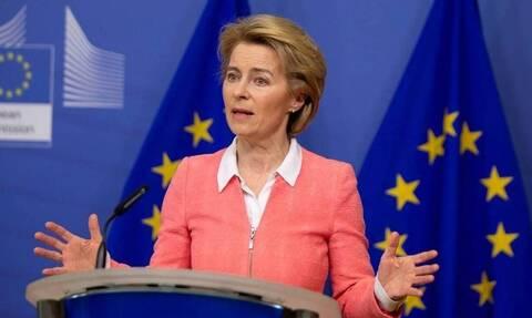 Ούρσουλα Φον Ντερ Λάιεν: Ιστορική η συμφωνία για το Ταμείο Ανάκαμψης