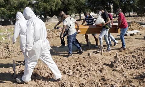Κορονοϊός στη Βραζιλία: 921 θάνατοι και 40.816 κρούσματα μόλυνσης σε 24 ώρες