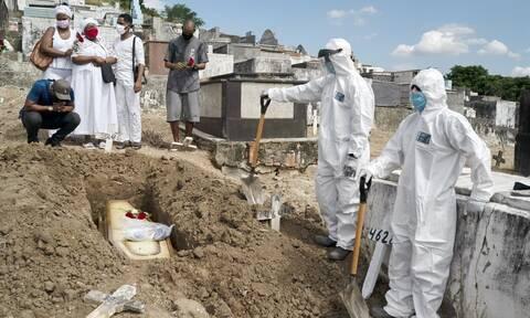 Ο κορονοϊός θερίζει τη Βραζιλία: 1.595 νεκροί και 69.074 κρούσματα σε 24 ώρες
