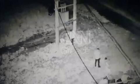 Βίντεο-ντοκουμέντο από τη δράση της συμμορίας που έκλεβε μετασχηματιστές