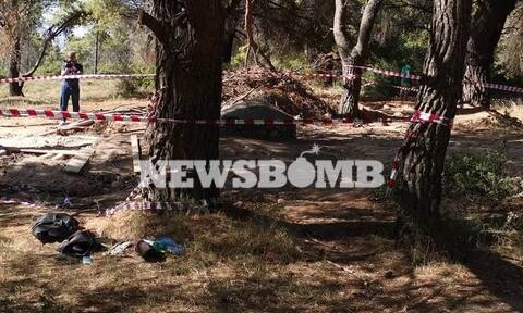 Βαρυμπόμπη: Οι πρώτες εικόνες από τον τόπο της τραγωδίας με τους τρεις νεκρούς