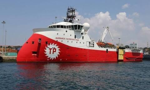 Barbaros: Δείτε πού βρίσκεται τώρα το τουρκικό πλοίο