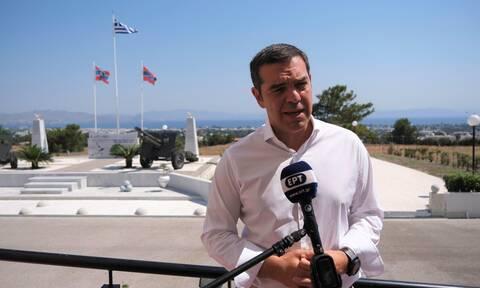 Τσίπρας: Μόνη διαφορά με την Τουρκία η υφαλοκρηπίδα - Δεν υπάρχουν γκρίζες ζώνες στο Αιγαίο