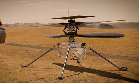 NASA: Αυτό είναι το drone που θα πετάξει στον Άρη