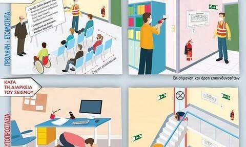 Σεισμός και κορονοϊός: Τι πρέπει να κάνετε εν μέσω πανδημίας στην εργασία σας