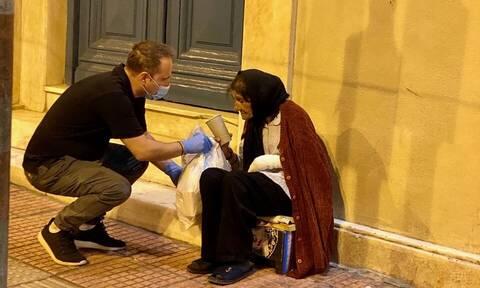 Η «ΑΠΟΣΤΟΛΗ» δίπλα στους αστέγους της Αθήνας