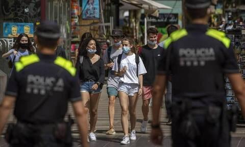 Ισπανία Κορονοϊός: 1.229 κρούσματα καταγράφηκαν μέσα σε 24 ώρες