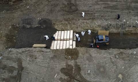 Κορονοϊός στις ΗΠΑ: 1.379 νεκροί και 72.238 κρούσματα μόλυνσης σε 24 ώρες