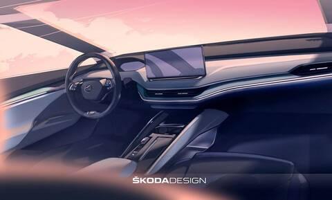 Δείτε το σαλόνι του ηλεκτρικού Skoda Enyaq iV
