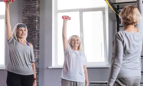 Η άσκηση που ωφελεί την καρδιαγγειακή υγεία των ηλικιωμένων