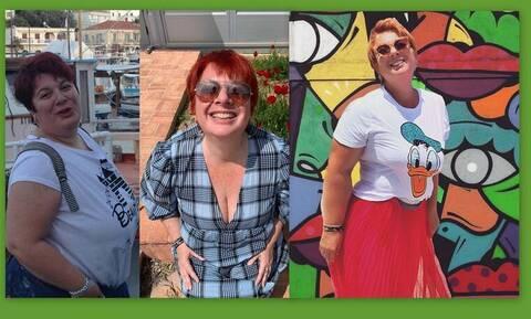 Ελεάννα Τρυφίδου: Δείτε μέσα από φωτό τη μεγάλη αλλαγή μετά την απώλεια κιλών