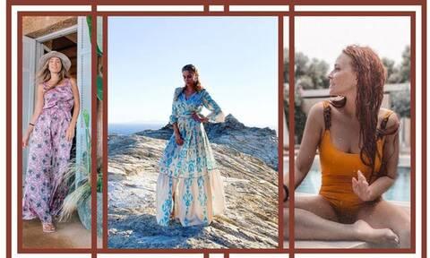 Τι πήραν μαζί τους στις διακοπές οι διάσημες Ελληνίδες μαμάδες