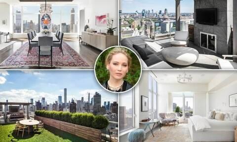 Η Τζένιφερ Λόρενς πούλησε το σπίτι της στη Νέα Υόρκη