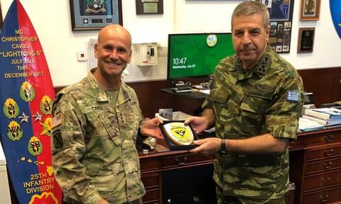 Αρχηγός ΓΕΣ: Επισκέφθηκε την Έδρα της Διοίκησης του Στρατού των ΗΠΑ στην Ευρώπη