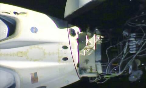 Η κάψουλα της SpaceX αναχώρησε από το Διεθνή Διαστημικό Σταθμό με προορισμό τη Γη