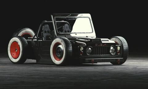 Και όμως αυτό είναι ένα Suzuki Jimny!