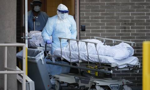 Κορονοϊός στις ΗΠΑ: 515 θάνατοι και 47.508 κρούσματα σε 24 ώρες