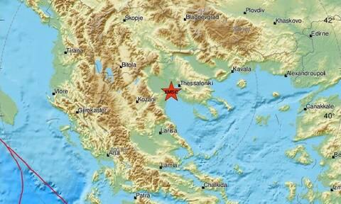 Σεισμός κοντά στη Θεσσαλονίκη (pics)