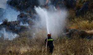 Φωτιά στην Τζια: Κλιμάκιο αναζητά τα αίτια της πυρκαγιάς - Καλύτερη πλέον η εικόνα