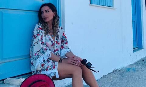 Το μαγιό που φόρεσε η Δέσποινα Βανδή κολακεύει κάθε γυναίκα