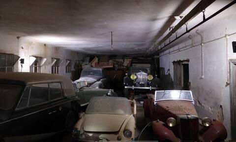 «Ξαναζωντανεύουν» τα αυτοκίνητα της τέως βασιλικής οικογένειας – Εντυπωσιακές εικόνες (pics - vid)