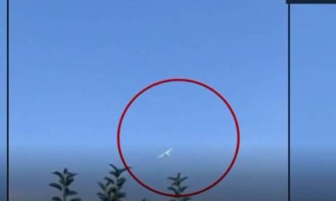 Σέρρες - Πτώση αεροσκάφους: Βίντεο ντοκουμέντο από την παρολίγον τραγωδία